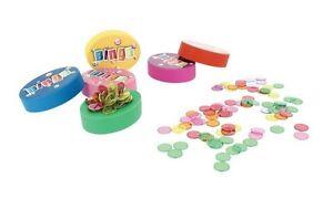 Palet Magnétique + 100 pions aimantés de Loto et Bingo magnetic 6 couleurs 00180