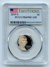 2019 S 5C Jefferson Nickel PCGS PR69DCAM First Strike