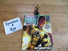 EAGLEMOSS DC COLLECTION #28 SINESTRO LEAD HAND-PAINTED FIGURE