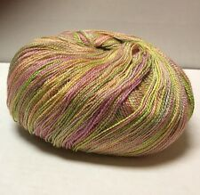 MERINO wool And SILK painted Lace Weight Yarn