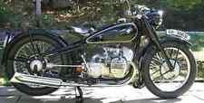 Bmw R 6 A4 Photo Print Motorbike Vintage Aged