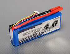 New Turnigy 4000mAh 3S 11.1v 30C 40C Lipo Battery Pack HXT 4mm USA