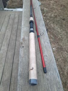 New Berkley Cherrywood HD Spinning Fishing Rod 7' Medium Heavy. Salesman Sample.