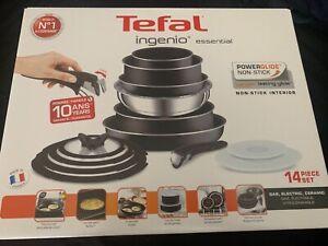 Tefal Ingenio Essential Non-stick Pots and Pans Set - 14 Piece