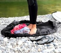 Black Frostfire Moonbag - Heavy duty changing mat and bag, ideal for watersports