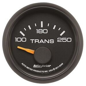 Autometer 8349 Air-Core SSE A/T Oil Temperature Gauge 100-250F for Chevy