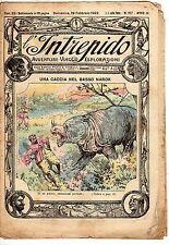 rivista L'INTREPIDO ANNO 1922 NUMERO 117
