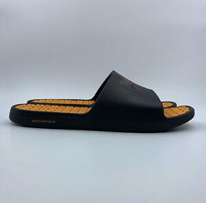 Timberland PRO Mens Slides Shoes Size 14 M Black Orange TB 0A2A71 001 AFT Slide