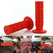 "For Yamaha WR400F WR450F WR250F WR250R WR125R WR125X WR250X 7/8"" Hand Grips Red"