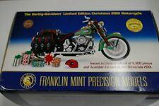 FRANKLIN MINT HARLEY DAVIDSON CHRISTMAS 2001 HERITAGE SPRINGER SOFTTAIL