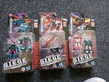 Transformers Laserbeak & Ravage, Direct-hit & Powerpunch, Red Heat & Stakeout
