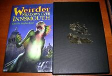 H.P. LOVECRAFT WEIRDER SHADOWS OVER INNSMOUTH CTHULHU MYTHOS SIGNED LIMITED 100