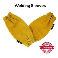 ArmaDEX - MIG TIG Foundry Protective Leather Welding Sleeves |Sold as Pairs|M or