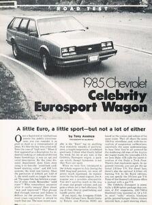 1990 Chevy Celebrity Wagon Pontiac 6000 Shop Manual 90 Repair ...