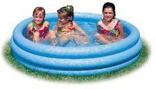 Kids Inflatable Swimming Bathing Pool Water Fun Outdoor Lawn Toddler Kiddie New