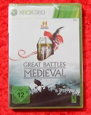Great Battles Medieval History, XBox 360 Spiel, Neu, deutsche Version
