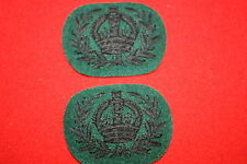 BRITISH CANADA CANADIAN WWII WOII RANK PATCH BADGE RIFLE REGIMENTS