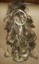 S H Medium Length Hair Extensions With Attached Comb in Golden Blonde