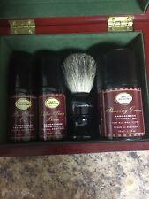 The Art of Shaving Genuine Badger Hair - Shaving Brush W Crem Oil And Balm