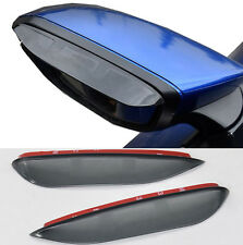 FIT FOR HONDA CIVIC 2016 2017 SIDE DOOR MIRROR RAIN GUARD VISOR SHIELD REAR VIEW