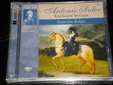 Antonio Soler - Peter-Jan Belder - Keyboard Sonatas Vol.4 -2CDs Album - 2011 NEW