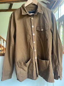 Finisterre Summer Light Workwear Jacket - Brown - Large