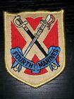 1970s 80s 90s USMC 4th Marine Regiment Patch