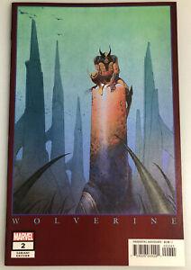 RETURN OF WOLVERINE #2 HIDDEN GEM 1:500  MARVEL VARIANT EDITION BY MOEBIUS