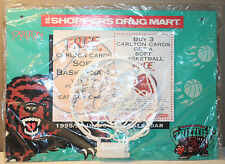 Vancouver Grizzlies 1995 1996 NBA Calendar with Hoop New in Bag Shoppers Drug Mt