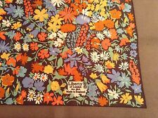 VINTAGE LIBERTY FLORAL SILK SCARF.  MINT.  23 x 23 INCHES.  SUPERB!