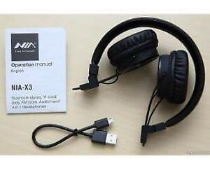Nia X3 Bluetooth Headphone