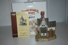 David Winter The Architect'S Cottage D1038 Member Only 1999 Box Coa Figurine