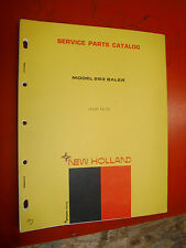 Up To 1972 New Holland Model 283 Baler Service Parts Catalog