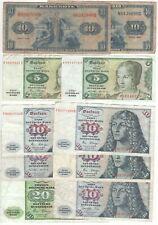 Germany 100 Deutsche Mark 1940s-1990s