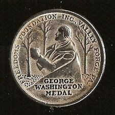 T745 Boy Scouts 1952 Washington Medal, Get Out To Vote, vintage BSA token 33mm