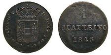 Italien Firenze Leopoldo II, Quattrino 1843