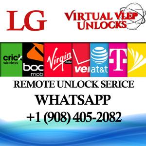 SIM UNLOCK LG STYLO 5X Q720TS  BOOST Sprint Remote Unlock service