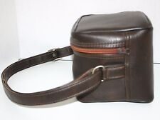 Vintage 1980's Polaroid Bag Case For Sun 600 LMS Land Camera with manual