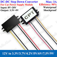 DC 12V to 5V 3A 15W Buck Converter Step Down Car Power Supply Voltage Regulator