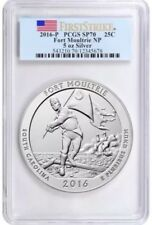 2016-P PCGS SP-70 Fort Moultrie 5 oz. Silver America the Beautiful First Strike