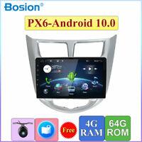 9inch 4G Car GPS Navi Stereo Audio For Hyundai Verna/Solaris Accent Android 10