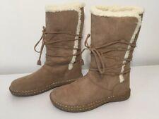 Airwalk Tan Winter Boots Slip On Women's 7.5