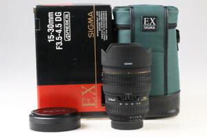 SIGMA 15-30mm f/3,5-4,5 EX DG Asph. für Nikon F (AF FX) - SNr: 1023746