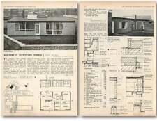 1958 Barnsbury Secondary School Accommodation For School Keeper Family