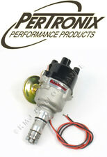 PerTronix D176600 MC Austin MG Flame-Thrower Distributor 4 Cyl 12V Neg Gnd Vac