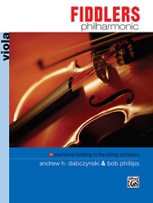 """Fiddler'S Philharmonic"" Viola Music Book-Chord Symbols-Brand New On Sale!"