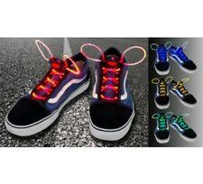 Led Light Up Flashing / Glowing Shoelaces Lacesred
