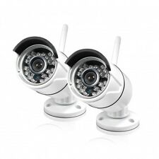 Swann SRNVW-460WB2-US , NVW-460 720p Wi-Fi HD Monitoring Security Cameras 2 PACK
