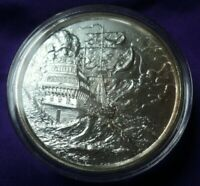 The Storm Elemetal High Relief Privateer Series 2 oz .999 Silver Round Coin 107