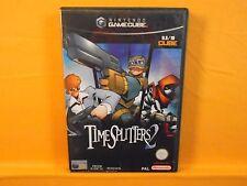 gamecube TIMESPLITTERS 2 II Time Splitters Nintendo PAL wii